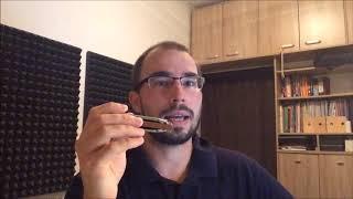 Juraj Schweigert - Harmonica Lesson: Playing Jazz on Diatonic Harmonica part 2
