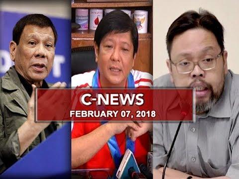 UNTV: C-News (February 7, 2018)