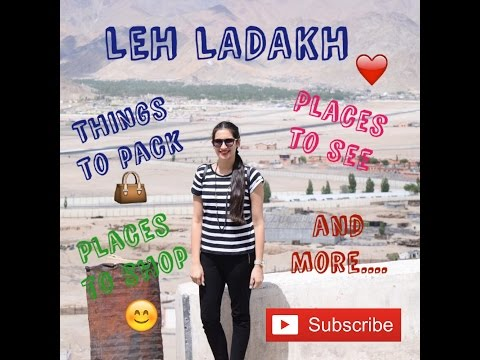 Leh Ladakh- 🏔🌌Things to Pack 🎒See and Much More...