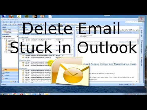 Mail stays in outbox outlook
