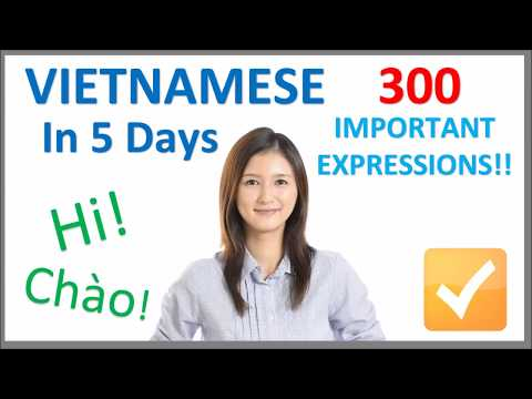 Learn Vietnamese in 5 Days - Conversation for Beginners