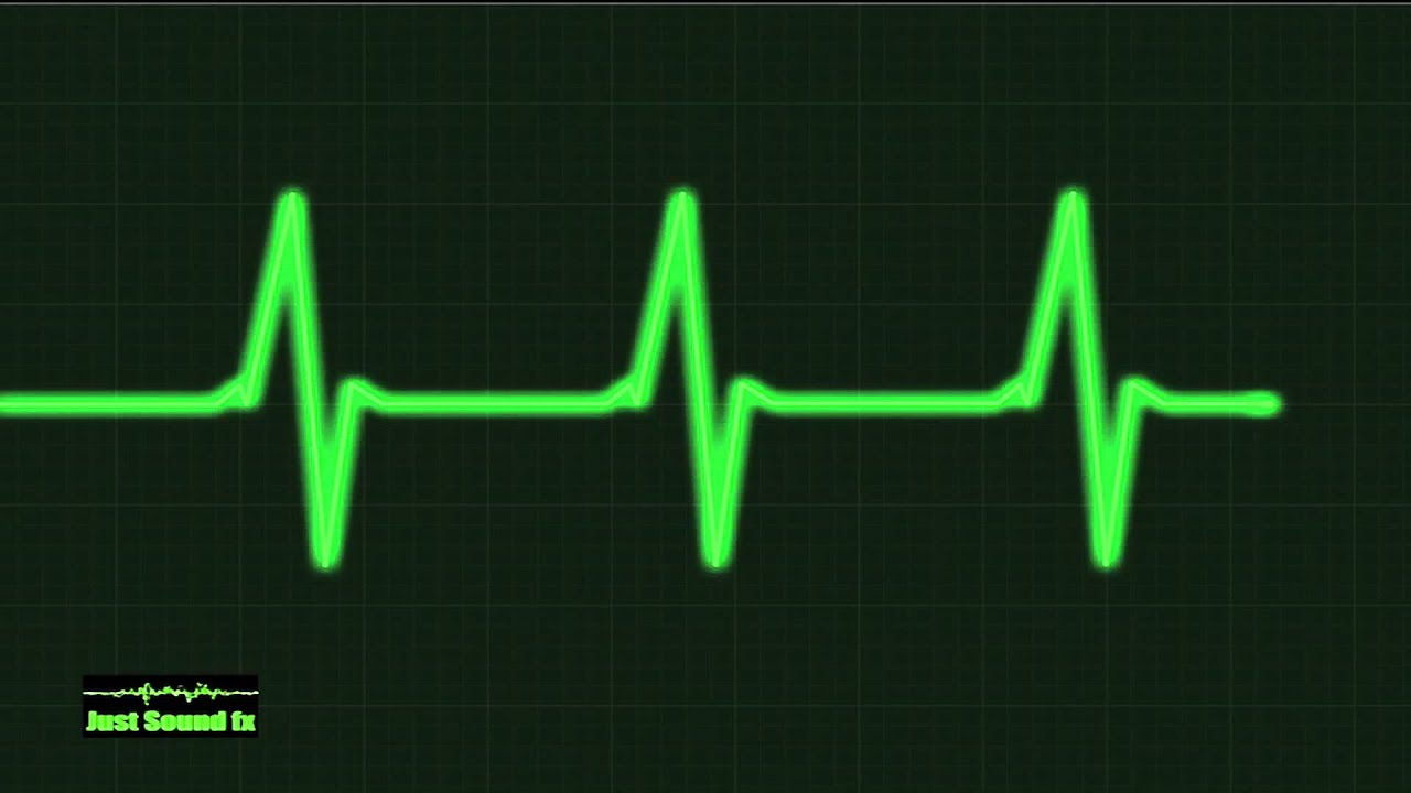 heart monitor beep sound effect - YouTube