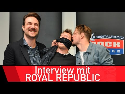 Royal Republic love FC Bayern Munich and Bastian Schweinstei