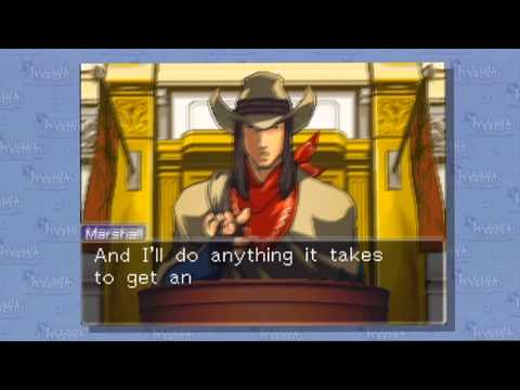 Phoenix Wright: Ace Attorney HD -Rise from the Ashes- Detective Marshall's Testimony P76
