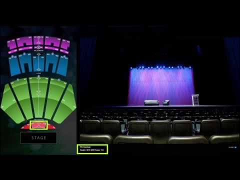 Nokia Theatre Los Angeles Seat Setup