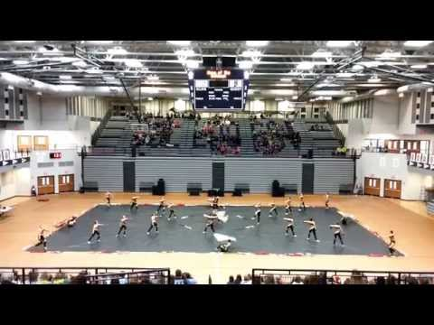 """""""Five"""" - Fishers High School JV Winter Guard - 2nd Competition"""