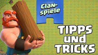 Clash of Clans ☆ CLANSPIELE/CLAN GAMES - Tipps & Tricks