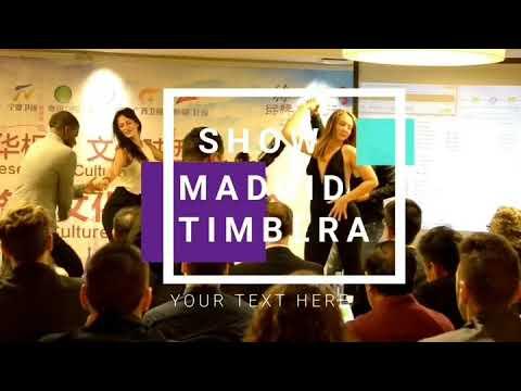 Madrid Timbera  bailando timba cubana en el hotel intercontinental Madrid