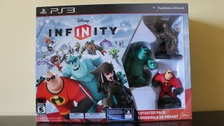 DISNEY INFINITY - STARTER PACK UNBOXING!!!