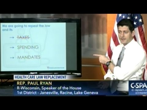 Paul Ryan's Powerpoint Presentation On Republican Healthcare Plan