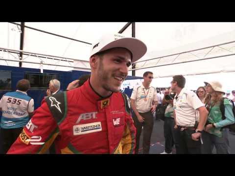 Miami ePrix - Daniel Abt post-race interview