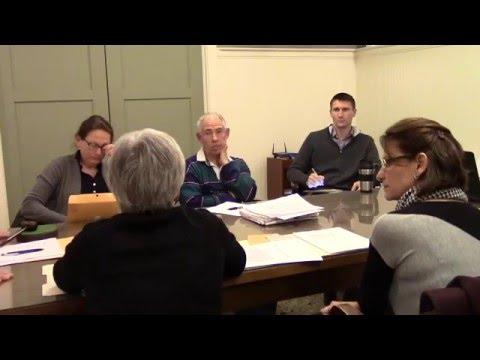 Water Board Meeting 2/10/2016 Kingston, NY