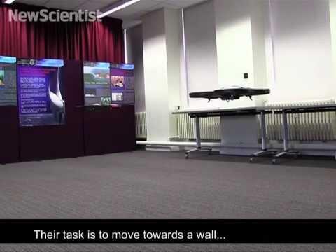 Polite drones could soon form efficient armies