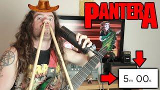 Making A PANTERA Song In 5 Minutes (Speedrun)