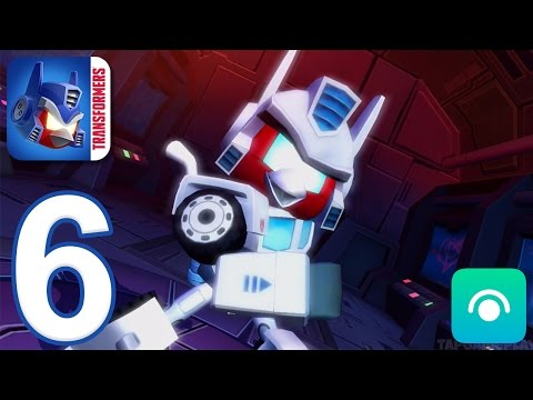 Angry Birds Transformers - Gameplay Walkthrough Part 6 - Ultra Magnus (iOS, Android)