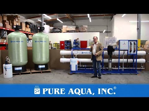 Brackish Groundwater Treatment Plant Philippines 57,000 GPD | www.PureAqua.com