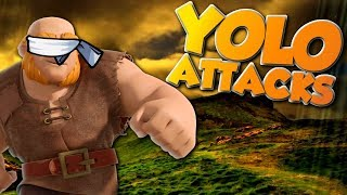What Attacks DOMINATED in War | Going in Blind | Clash of Clans