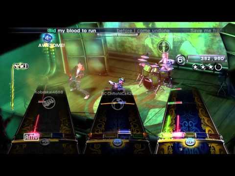 Rock Band 3 Full Band - Evanescence - Bring Me To Life - 5GS