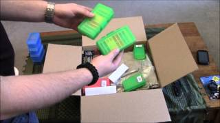 Unboxing package from LA Police Gear