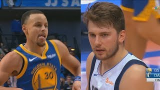 The Game Stephen Curry & Luka Doncic WENT CRAZY In Amazing Duel! Warriors vs Mavericks