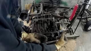225 Dauntless V6 Engine Disassemble (part 1)