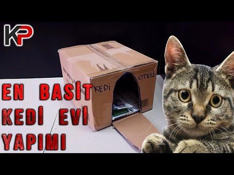 En Basit Kedi Evi YAPIMI (1080p)