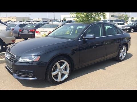 pre owned blue on black 2012 audi a4 4dr sdn auto quattro. Black Bedroom Furniture Sets. Home Design Ideas