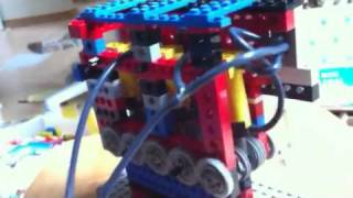 Lego 3-cylinder pneumatic motor