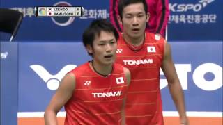 Victor Korea Open 2016 | Badminton QF M1-MD | Lee/Yoo vs Kam/Son