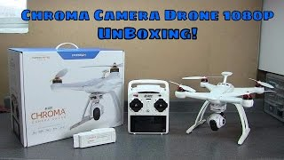 Horizon Hobby Blade Chroma Camera Drone 1080p Unboxing(Lets unbox the Blade Chroma Camera Drone from Horizon Hobby! *****Please note, that at the time of this filming... Horizon hobby had not discontinued this kit., 2016-03-21T18:06:13.000Z)