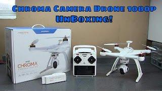 Horizon Hobby Blade Chroma Camera Drone 1080p Unboxing