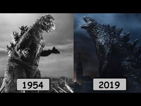 Эволюция Годзиллы в кино. Все фильмы про Годзиллу 1954-2019!