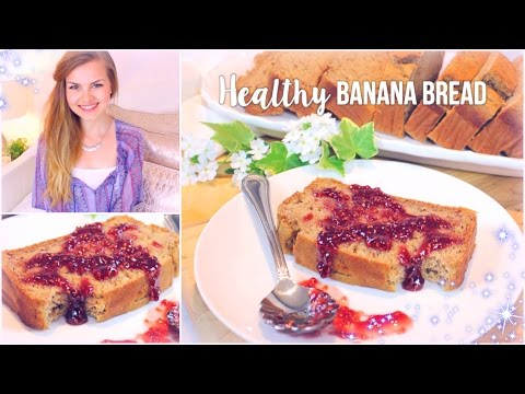 Healthy Banana Bread Recipe (no sugar added & low fat)