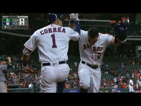 OAK@HOU: Altuve belts a solo homer to left...