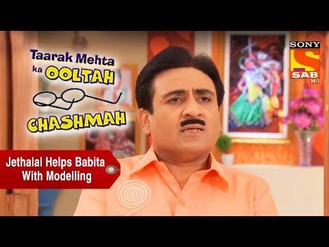 Jethalal Helps Babita With Modelling | Taarak Mehta Ka Ooltah Chashmah