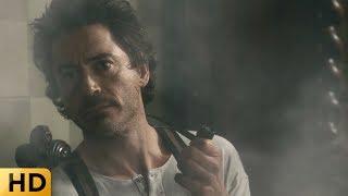 Холмс пускает дым в глаза в кабинете министра. Шерлок Холмс.