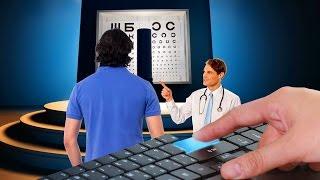 Как улучшить зрение для прохождения медкомиссии у окулиста. 100%!