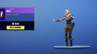 Fortnite: Huntress Hula Emote Glitch (Funny)