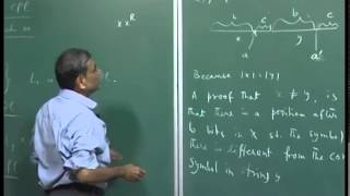 Mod-01 Lec-29 Another example of a cfl whose complement is not a cfl. Decision problems for cfls.
