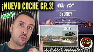 Gran Turismo Sport - ¡ NUEVO COCHE DE GRUPO 3 ! - JaviFabio Investigación en World Tour Sidney