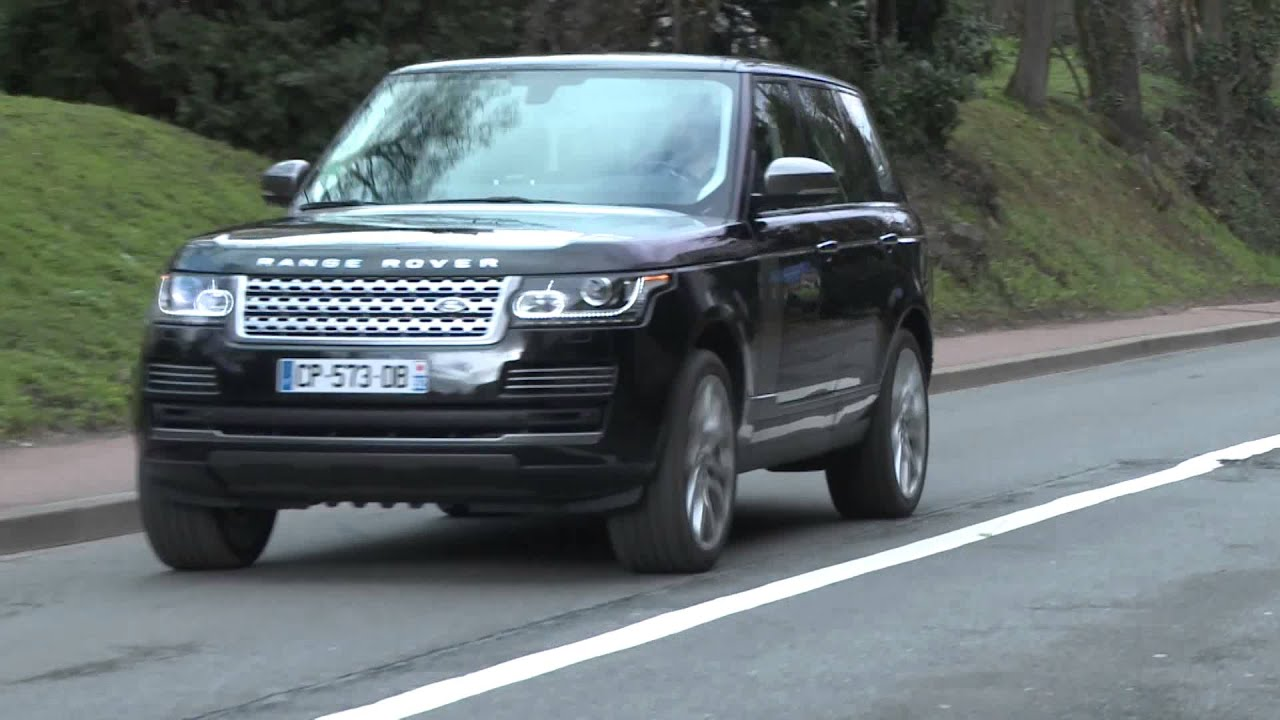 essai land rover range rover sdv8 4 4 autobiography 2013 youtube. Black Bedroom Furniture Sets. Home Design Ideas