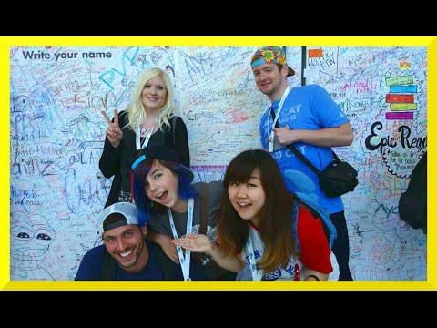 Vidcon Trip VLOG 4 - More Con, Fans, Friends, Disney And Dreamworks TV
