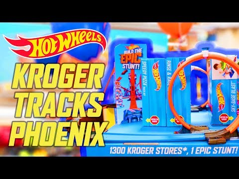 Build The Epic Stunt Kroger Competition - Phoenix | Hot Wheels