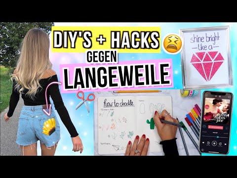 DIYs gegen LANGEWEILE 5.0 😑 einfache DIY Ideen für Zuhause ✨ gegen Langeweile - Cali Kessy