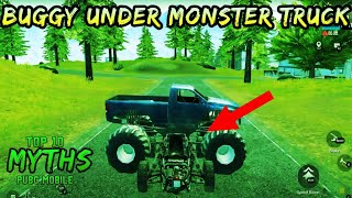 Buggy Under Monster Truck   Top 10 Mythbusters Pubg mobile   Episode 4