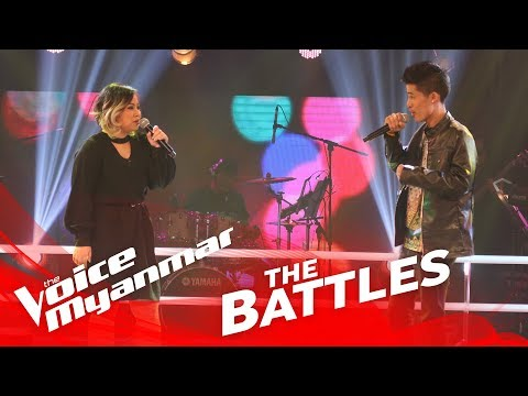 "Susan Aye vs. Bawa: ""Accident"" - The Battles - The Voice Myanmar 2018"