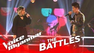 "Susan Aye vs. Bawa: ""Accident"" - The Battles - The Voice Myanmar 2018"