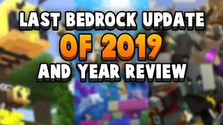 Bedrock 1.14.1 Out Now - Last Update Of The Year & Retrospective