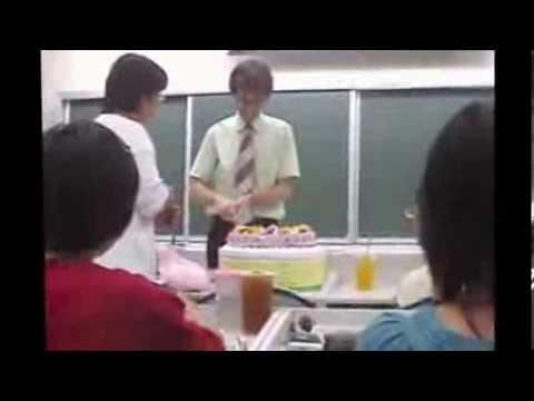 2005 September Barry's Birthday at Chiayi University