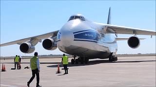 (Multicam) - Antonov 124-100 RA-82045 en Cordoba 19sep17.